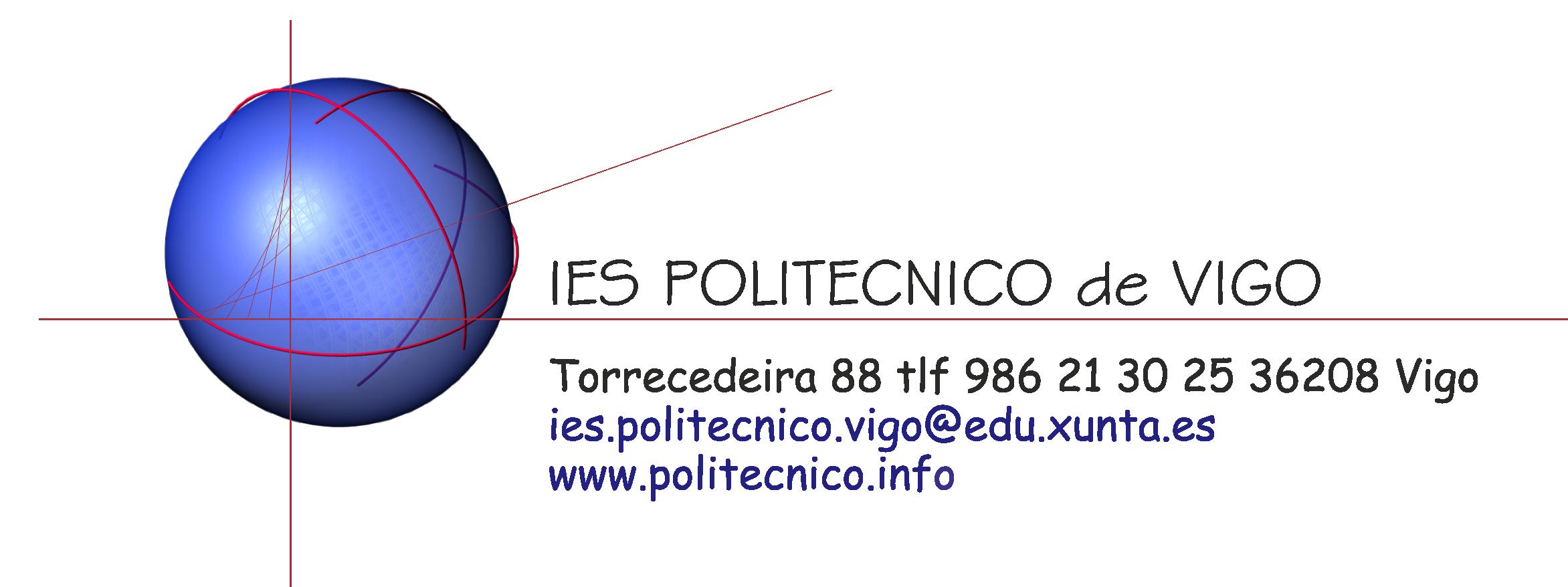 Web do IES Politécnico de Vigo