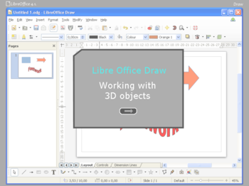 3d Objects Libreoffice Draw Learning To Design