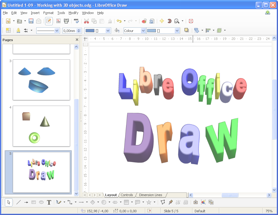 Intro Libreoffice Draw Learning To Design