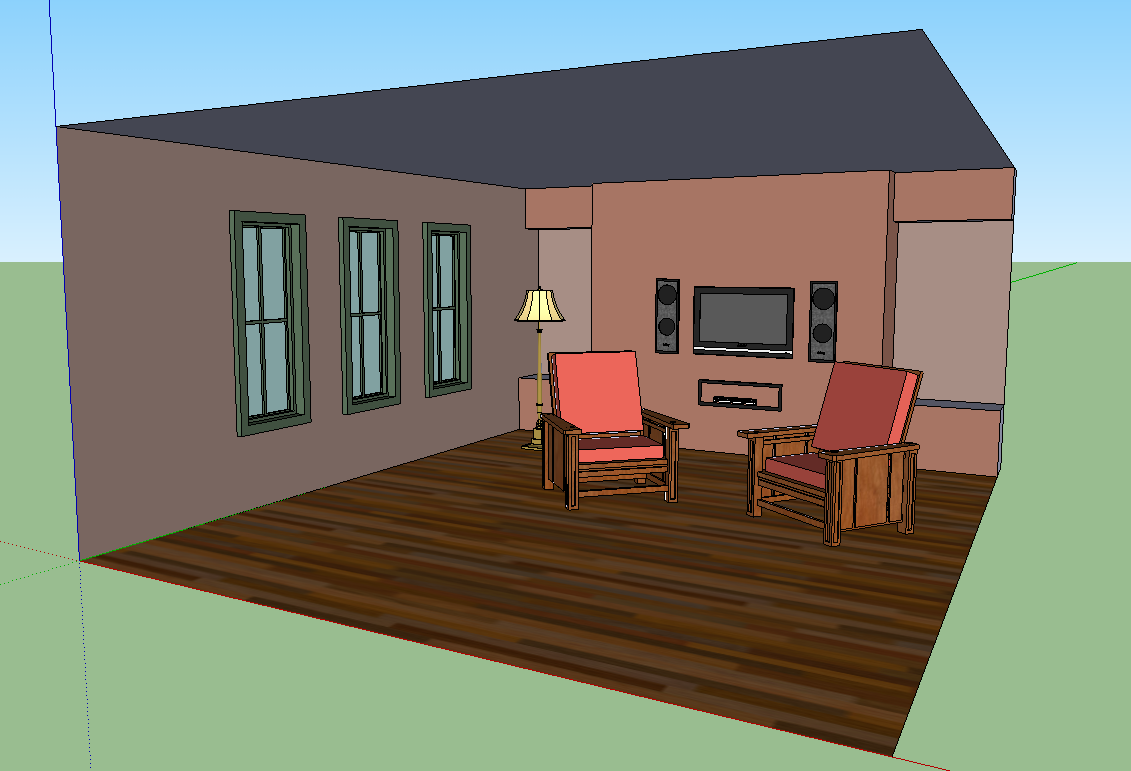 Sketchup room gallery 3d room maker