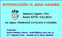 Introducción al mini handbol