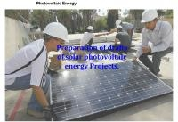 Preparation of drafts of solar photovoltaic energy projects