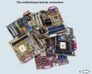 The motherboard and its connectors