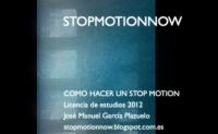 Stop Motion Now (galego)