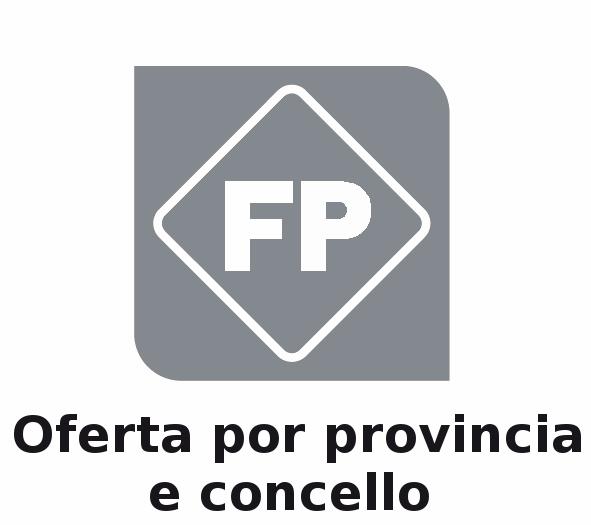 Oferta por provincia e concello