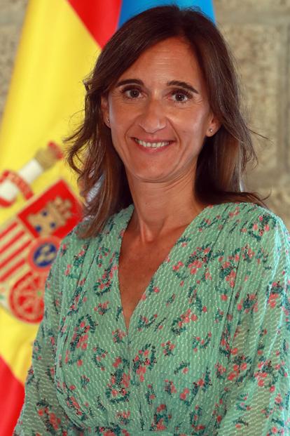 Carmen Pomar Tojo, conselleira de Cultura, Educación e Ordenación Universitaria